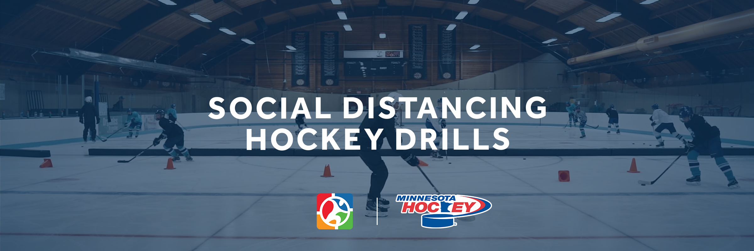 6 Social Distancing Drills from Minnesota Hockey